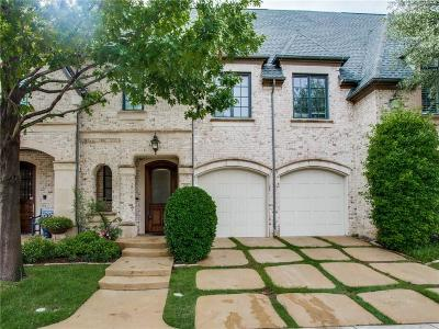 Plano Townhouse For Sale: 2109 Fawnwood Drive