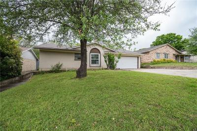 Carrollton Single Family Home Active Option Contract: 2124 Bowie Drive