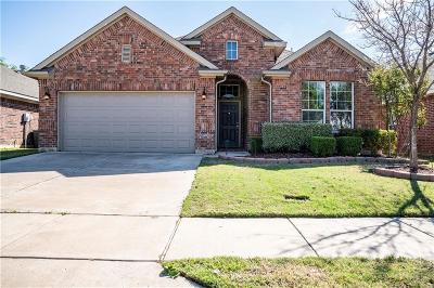 Fort Worth Single Family Home Active Option Contract: 8652 Corral Circle