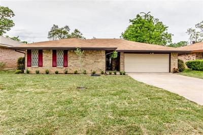 Irving Single Family Home Active Option Contract: 2009 Rocky Cove