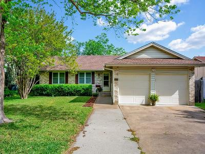 Irving Single Family Home Active Option Contract: 2629 Chevy Chase Drive