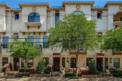 Dallas Townhouse For Sale: 1004 Pavillion Street