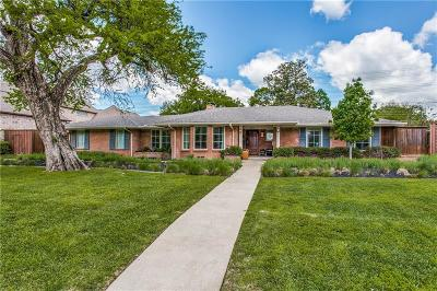 Dallas Single Family Home For Sale: 6955 Lavendale Avenue