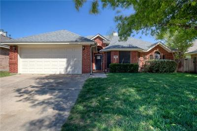 Fort Worth Single Family Home For Sale: 7580 Juliet Lane