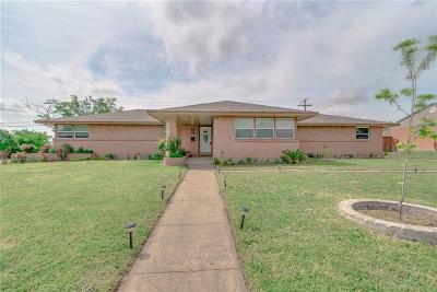 Dallas Single Family Home For Sale: 1208 Gregory Drive