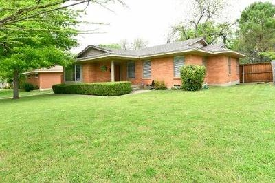 Richardson Single Family Home Active Option Contract: 732 Downing Drive