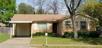 Waco Single Family Home For Sale: 1719 La Porte Drive