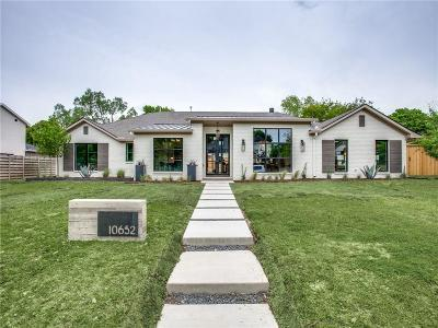 Dallas Single Family Home For Sale: 10652 Les Jardins Drive