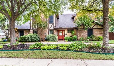 Richardson Single Family Home Active Option Contract: 2608 Sherrill Park Drive