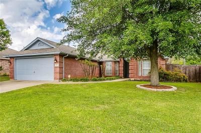 Burleson Single Family Home Active Option Contract: 828 Spring Meadows Drive
