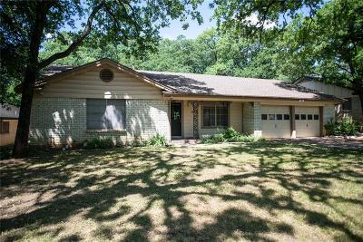 Hurst Single Family Home Active Option Contract: 405 Twin Creek Drive