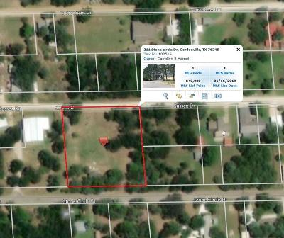 Grayson County Residential Lots & Land For Sale: 311 Stone Circle Drive