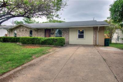 Lewisville Single Family Home Active Option Contract: 110 Fernwood Place