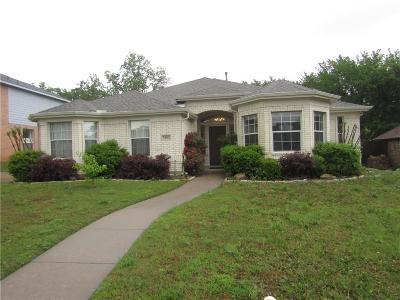 Denton Single Family Home Active Contingent: 3801 Monte Carlo Lane