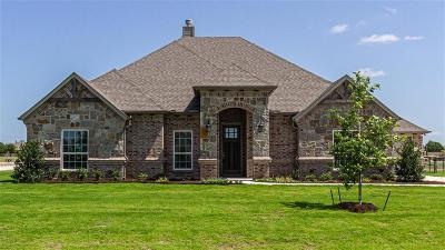 Justin Single Family Home For Sale: 1114 Denton Creek Drive