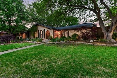 Richardson Single Family Home Active Option Contract: 3202 Tam O Shanter Lane