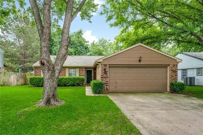 Euless Single Family Home Active Option Contract: 208 Cinnamon Lane