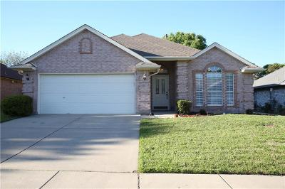 Saginaw Single Family Home Active Option Contract: 1030 Springwood Drive
