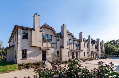 Dallas Townhouse For Sale: 8706 Tudor Place