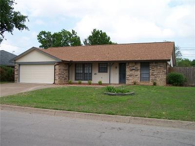 North Richland Hills Single Family Home Active Option Contract: 5624 Caracas Drive