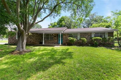Fort Worth Single Family Home Active Option Contract: 7701 Trimble Drive