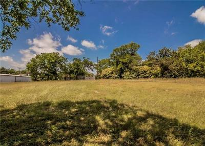 Dallas Residential Lots & Land Active Option Contract: 6125 Blunter Street