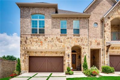 Denton County Townhouse For Sale: 2705 Creekway Drive