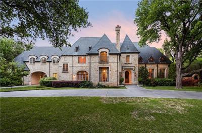 Dallas Single Family Home For Sale: 5431 Ursula Lane