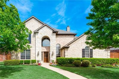 Frisco Single Family Home Active Option Contract: 9550 Dickens Lane