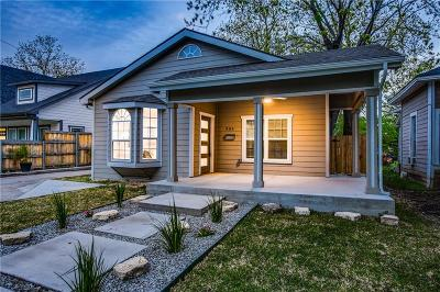 Dallas Single Family Home For Sale: 906 S Marlborough Avenue