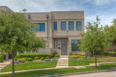 Fort Worth Townhouse For Sale: 3626 Tulsa Way