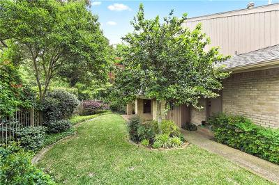 Dallas County Townhouse For Sale: 1224 Middlebrook Place