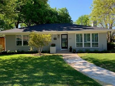 Richardson Single Family Home Active Option Contract: 537 Greenleaf Drive