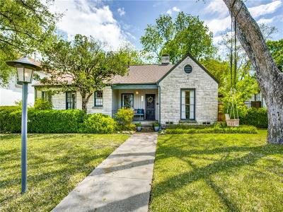 Dallas Single Family Home For Sale: 6326 Malcolm Drive
