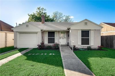 Dallas Single Family Home For Sale: 2627 Langdon Avenue