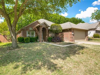 Lewisville Single Family Home Active Option Contract: 1362 Forest Creek Drive