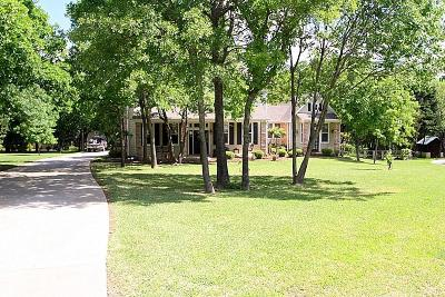 Denton County Single Family Home For Sale: 4400 Oak Shores Circle