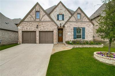 Grapevine Single Family Home Active Option Contract: 345 Hill Creek Lane