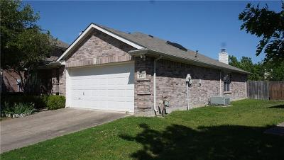 Forney Single Family Home Active Option Contract: 507 Tumbleweed Drive