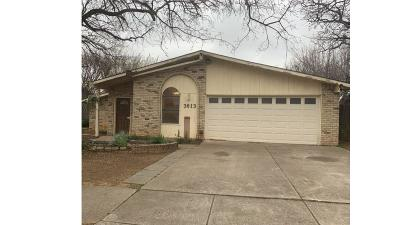 Hurst, Euless, Bedford Single Family Home For Sale: 3613 Aspenwood Drive