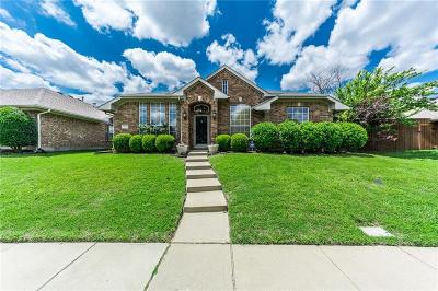 McKinney Single Family Home Active Option Contract: 3724 Gardenia Lane