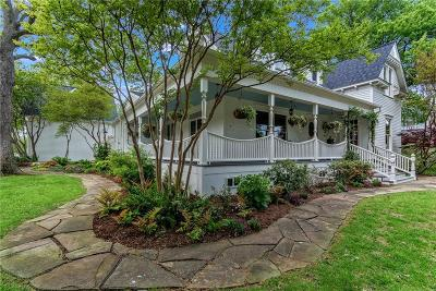 Mckinney Single Family Home For Sale: 703 N College Street
