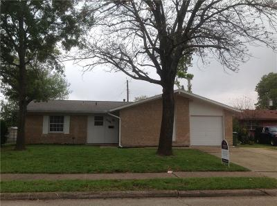 Garland Single Family Home For Sale: 3106 Centennial Drive