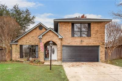 Flower Mound Single Family Home For Sale: 1905 Hamilton Drive