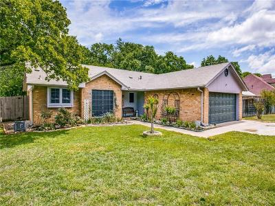 Kennedale Single Family Home Active Option Contract: 602 Ruth Drive