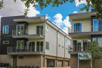 Dallas Townhouse For Sale: 4545 Bowser Avenue #203
