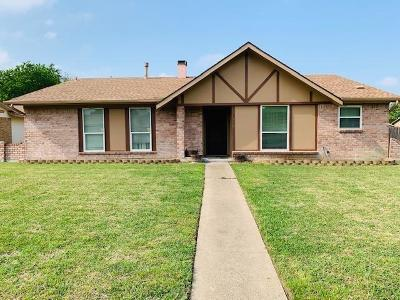 Garland Single Family Home For Sale: 1821 Cripple Creek Drive