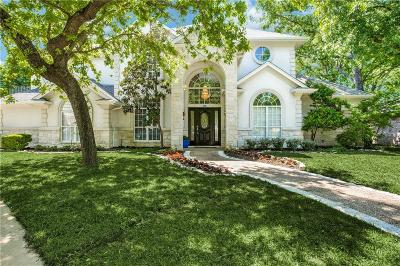 Irving Single Family Home For Sale: 1900 Valley Oaks Court