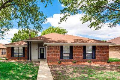 Allen Single Family Home For Sale: 210 S Alder Drive