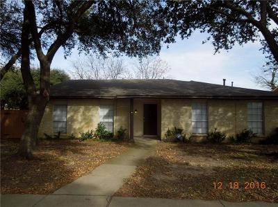 Garland Single Family Home For Sale: 4502 Tranquility Drive